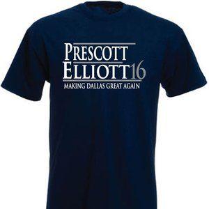 Prescott Elliott Cowboys ADULT MEDIUM SHIRT